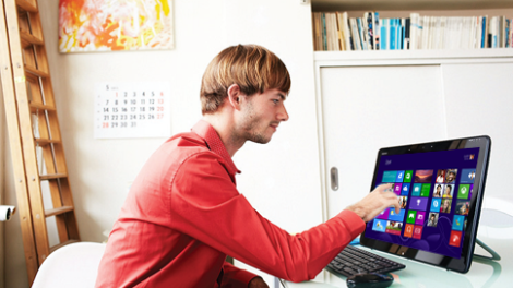 PC touchscreen win 8