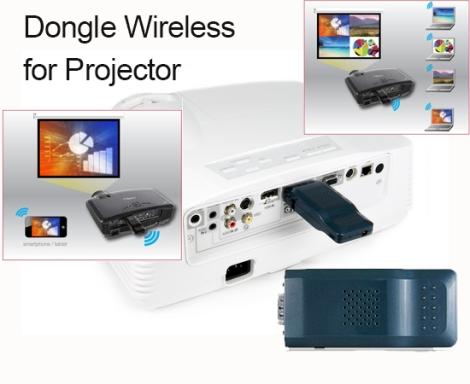 Mengoptimalkan Proyektor Lama Menjadi Wireless