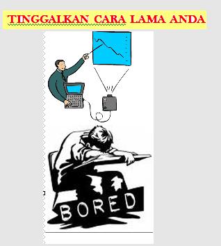 presentasi membosankan